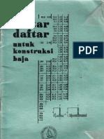 Daftar2 Untuk Konstruksi Baja-1