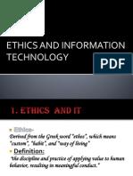 Info Ppt of Ethics