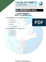 Jornada Deportiva Sep-2012