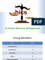 Group 10-Ethics in HR