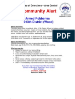 610-12-212 013th Dist Armed Robberies