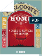 Welcome Home - A guide to Services for TCHC tenants - 2012
