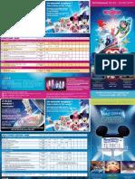 Disneyland Paris - Programa d'Espectacles