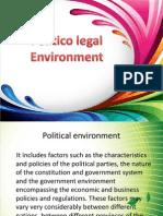 Politico Legal Environment