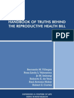 Handbook of Truths Behind the R.H. Bill 1st edition (Oct. 4, 2012 revision)