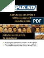 Estrutura econômica e IDH