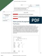 Utilizando Funciones Analiticas en Oracle Para Paginar