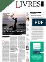 Supplément Le Monde des livres 2012.09.14
