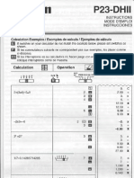 Canon 10-Key Calculator P23-DHII