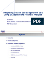 NCOAUG Integrating Custom Sub-Ledgers With EBS Using BI Applications