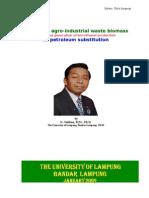 SUTIKNO LAMPUNG ARTIKEL Potency of Agroindustrial Waste for Bioethol 090205