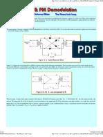 FM_PM Demodulation - The Phase Lock Loop