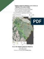Modelo Plan Orenamiento Predial Balmaceda - Aysen [PATAGONIA de Chile]