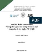 Antropología_indicadores de salud_Logroño_ss. XI-XII