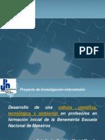 UPN Presentación proyecto de tesis de maestría SENDDEY 2o. Foro