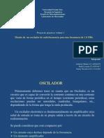 OSCILADOR - PROYECTO 1