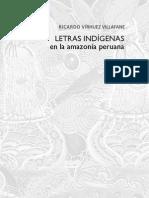 Letras indígenas en la Amazonía peruana