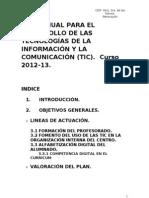 PLAN ANUAL PARA EL DESARROLLO DE LA TECNOLOGÍAS DE LA INFORMACIÓN Y LA COMUNICACIÓN-1