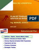 Plan Trabajo Area Inventarios CARSA-Mayo07