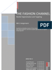 The Fashion Channel - Case Analysis