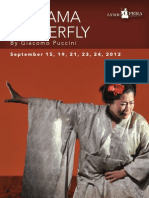 2012 Madama Butterfly Program