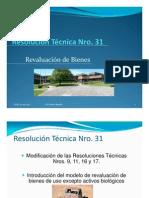 Resolucion Tecnica 31 - Revaluacion de Bienes - UNLZ