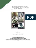 PENGEMBANGAN TEKNIK PENYELAMATAN   EMBRIO KELAPA KOPYOR (Cocos nucifera L.) SECARA IN-VITRO