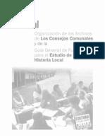 Manual Organizacion de Archivos e Historia Local