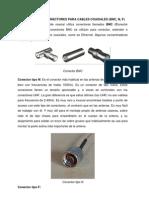 Elaboración de Conectores para Cables Coaxiales