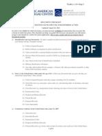 Step 2 - Document Checklist