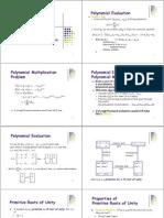 אלגוריתמים- הרצאה 10 | The Fast Fourier Transform