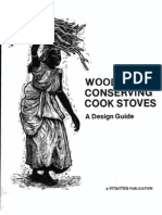 Wood Conserving Cook Stoves a Design Guide 1980