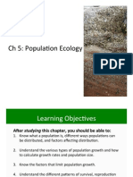 Ch 5 Population Ecology