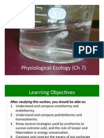 Ch 7 Physiological Ecology