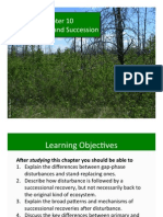 Ch 10 Disturbance and Succession