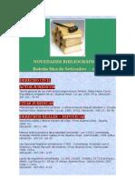 boletín de novedades bibliograficas