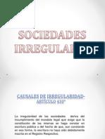 Sociedad Irregular