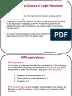 תכן לוגי מתקדם- הרצאה 2 | NPN Classification