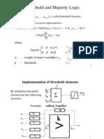 תכן לוגי מתקדם- הרצאה 4 | Threshold Functions