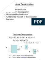 תכן לוגי מתקדם- הרצאה 7 | Functional Decomposition