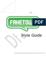 Fakeout Style Guide