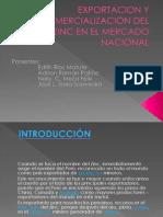 Exportacion y Comercializacion Del Zinc en El Mercado