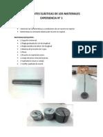 Laboratorio N° 1 (Constantes Elásticas)