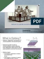 Molecular Beamepitaxy