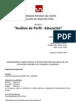Perfil Gestion i Educacion