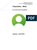 GVI Report 2012 -Mahe