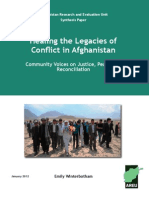 1201E-Healing the Legacies of Conflict in Afghanistan SP 2011