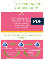 Transfer Pricing Pt Asian Agri Group