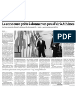20120915 LeMonde Grecia Crisis Euro