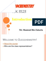 OLEOCHEMISTRY_Chapter 1- Introduction